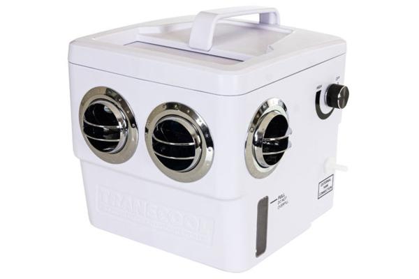 Transcool EC3F PLUS 12V odpařovací chladič vzduchu – bílá barva